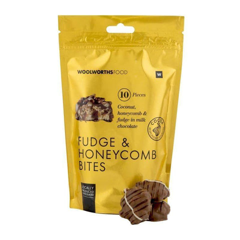 Fudge & Honeycomb Bites 140g