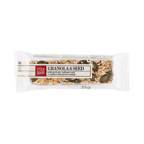 Granola & Seed Snack Bar 55g