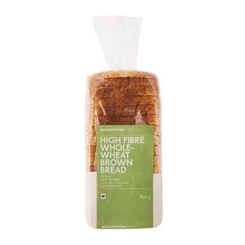 High Fibre Wholewheat Brown Bread 700g