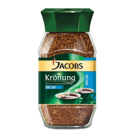 Jacobs Krönung Decaf Instant Coffee 200g