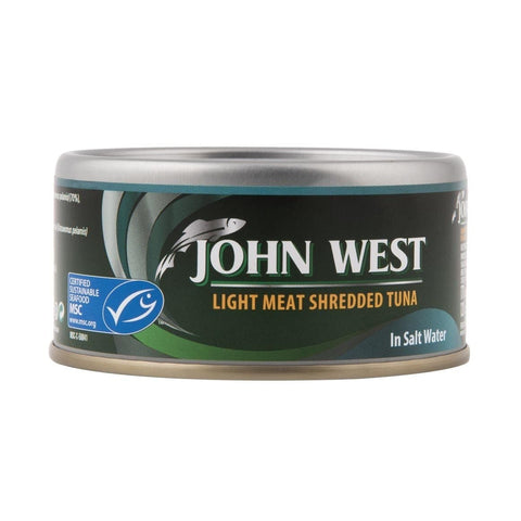 John West Light Meat Shredded Tuna in Salt Water 170g
