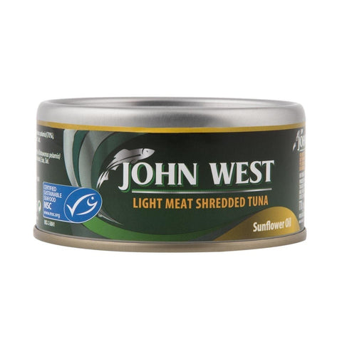 John West Light Meat Shredded Tuna in Sunflower Oil 170g
