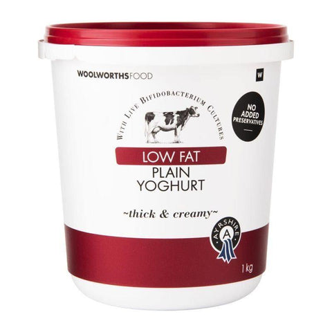 Low Fat Ayrshire Plain Yoghurt 1Kg