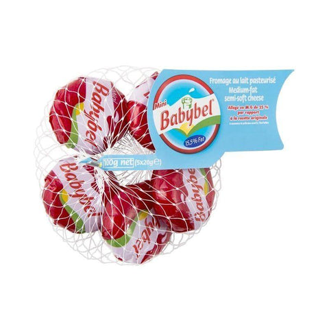 Mini Babybel Medium Fat Semi-Soft Cheese 100g