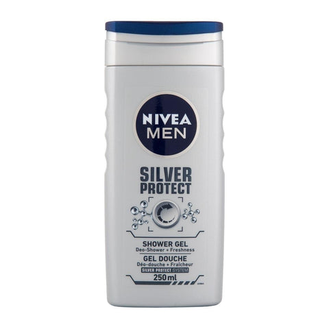 Nivea For Men Silver Protect Shower Gel 250ml