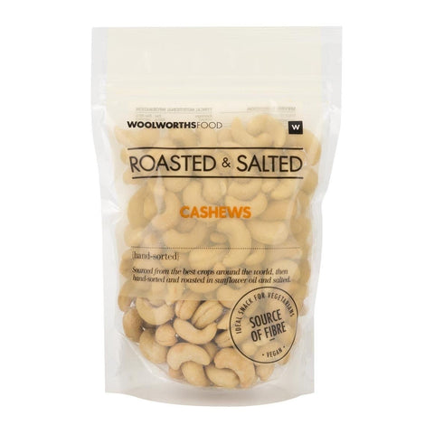 Roasted & Salted Cashew Nuts 250g