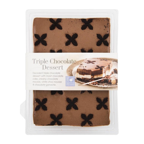 Triple Chocolate Dessert 450g