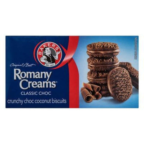 Bakers Original Romany Creams Biscuits 200G Snacks
