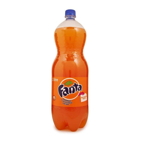 Fanta Orange 2L - Limited To 8 Bottles Per Customer Beverages