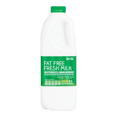 PnP Fat Free Fresh Milk 2l