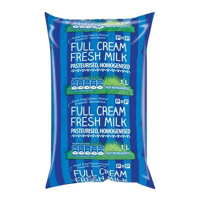 Full Cream Milk Sachet 1l x 20