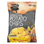 PnP Lemon & Herb Potato Chips 125g