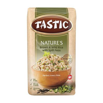 Tastic Natures Brown And Wild Rice 1kg