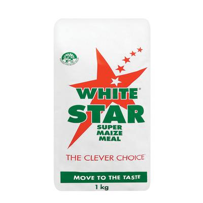 White Star Super Maize Meal 1kg