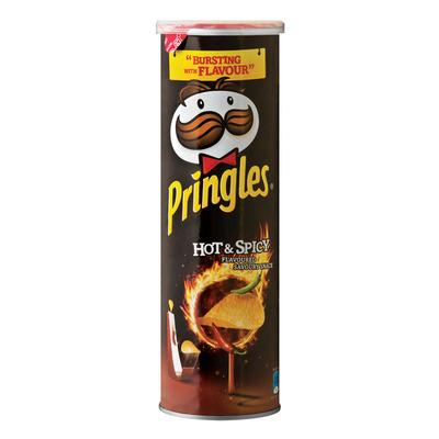 Kellogg's Pringles Hot & Spicy 110g
