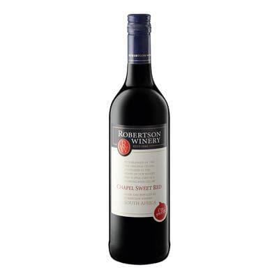 Robertson Chapel Natural Sweet Red 750ml