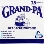 Grand-Pa Headache Powders 25 Powders