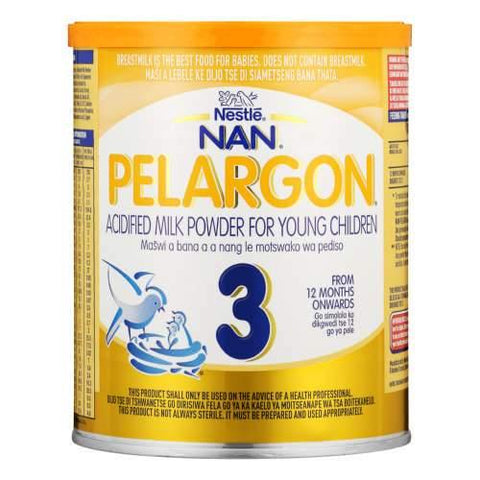 Nestle Nan Stage 3 Pelargon Acidified Milk Powder For Young Children 400g