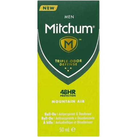 Mitchum Advanced Anti-Perspirant & Deodorant Roll-On For Men Mountain Air 50ml