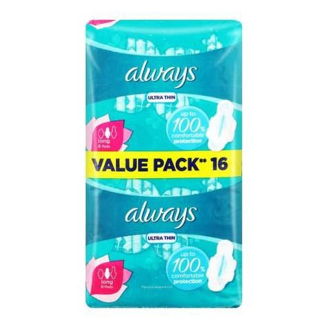 Always Ultra Super Plus 14 Sanitary Pads