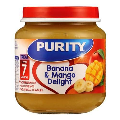 Purity Second Foods Banana & Mango Delight 125ml