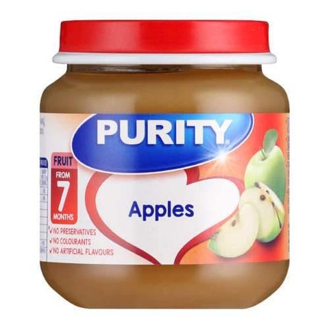 Purity Second Foods Apples 125ml