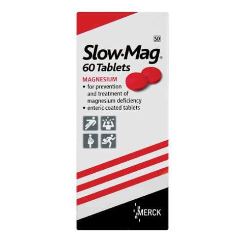 Slow-Mag Magnesium Supplement 60 Tablet