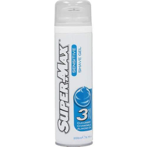Super-Max Shave Gel Sensitive 200ml