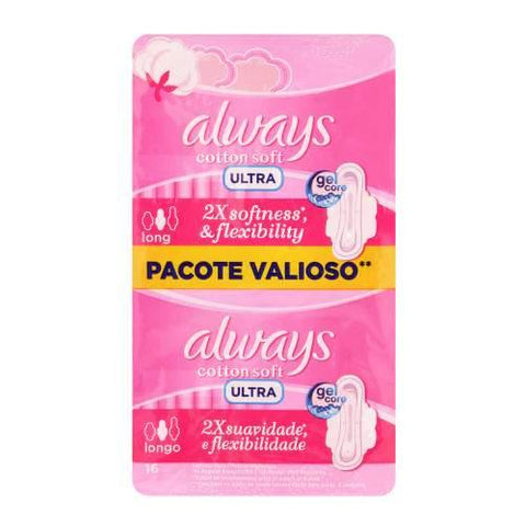 Always Ultra Sanitary Pads Sensitive Super Plus 16 Pads