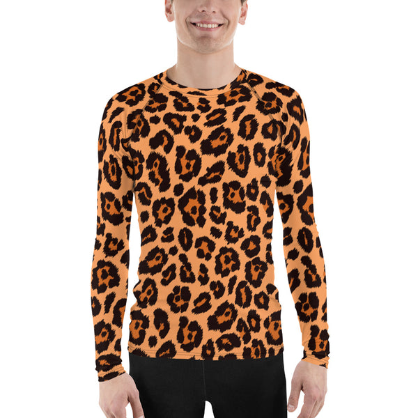 Leopard Men's Rash Guard