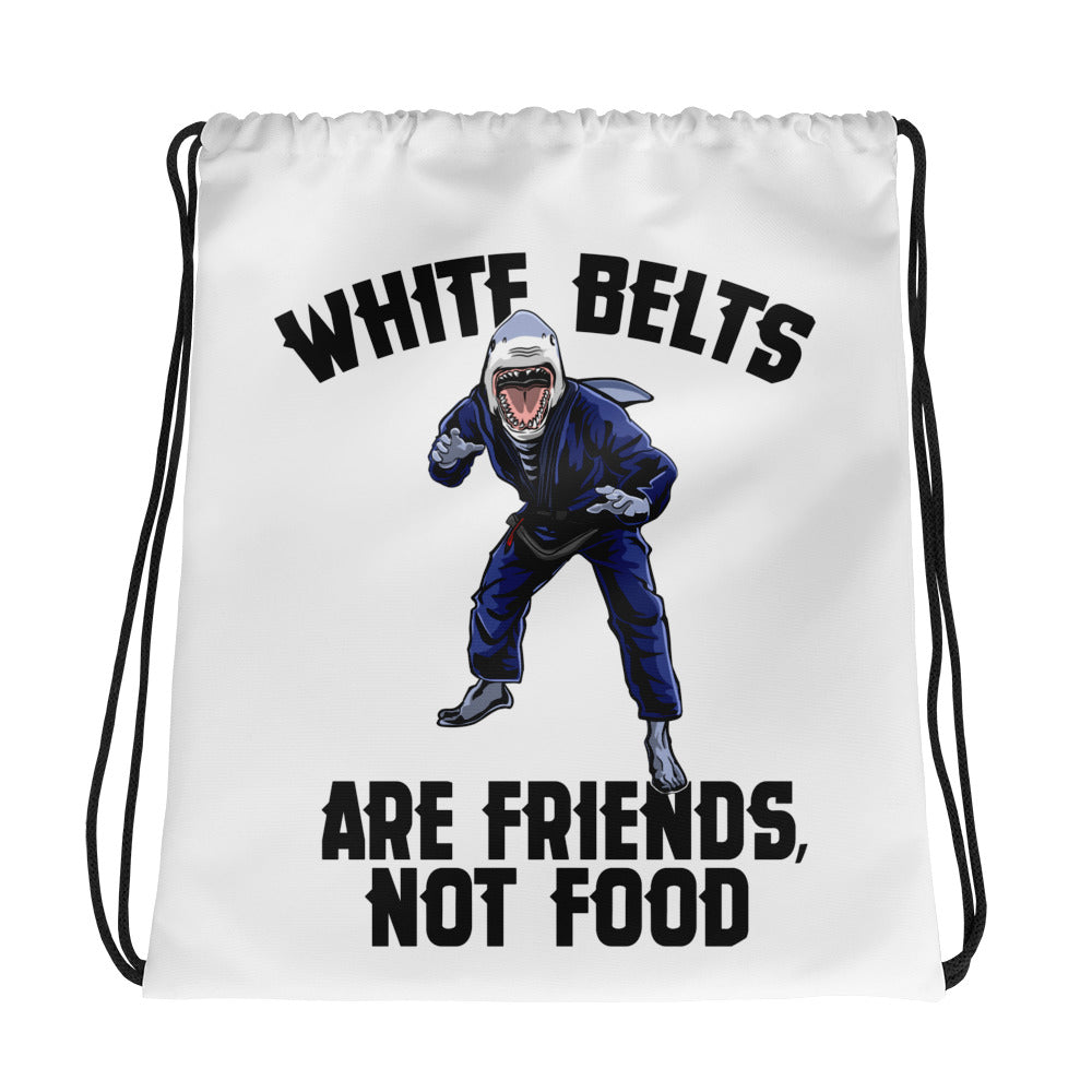 White Belts are Friends not Food