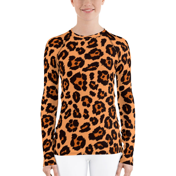 Leopard Women's Rash Guard