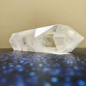 Clear Quartz Double Pointed Generator