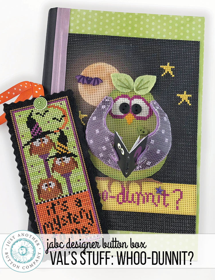 Designer Button Box: Whoo-Dunnit? Finishing Tutorial