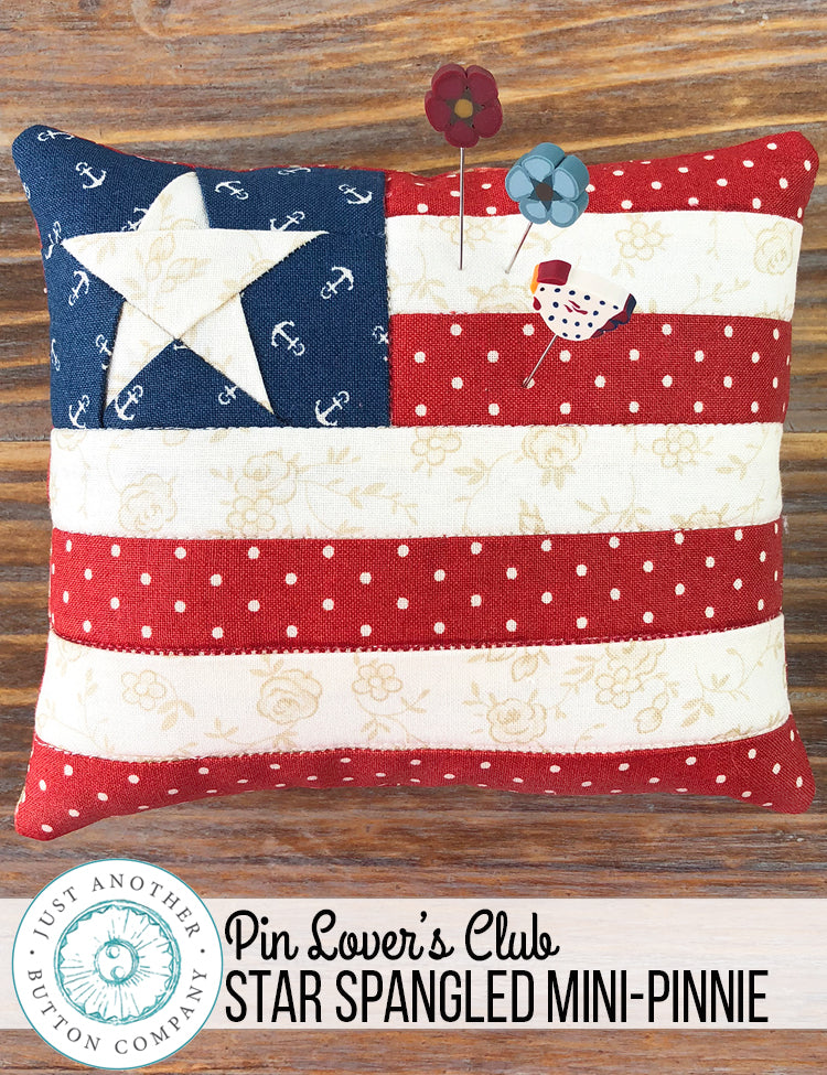 Pin Lover's Club: Star Spangled Mini-Pinnie