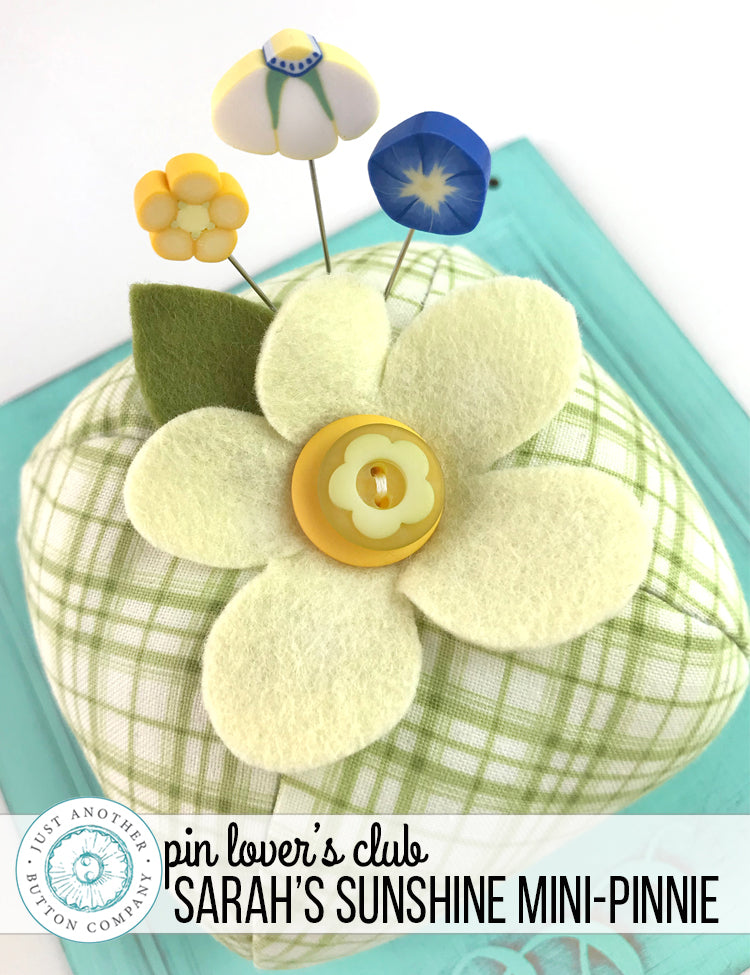 March Pin Lover's Club: Sarah's Sunshine Mini-Pinnie