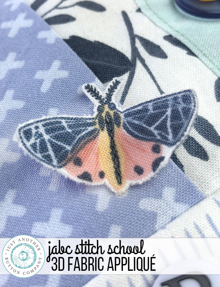 JABC Stitch School: 3D Fabric Applique