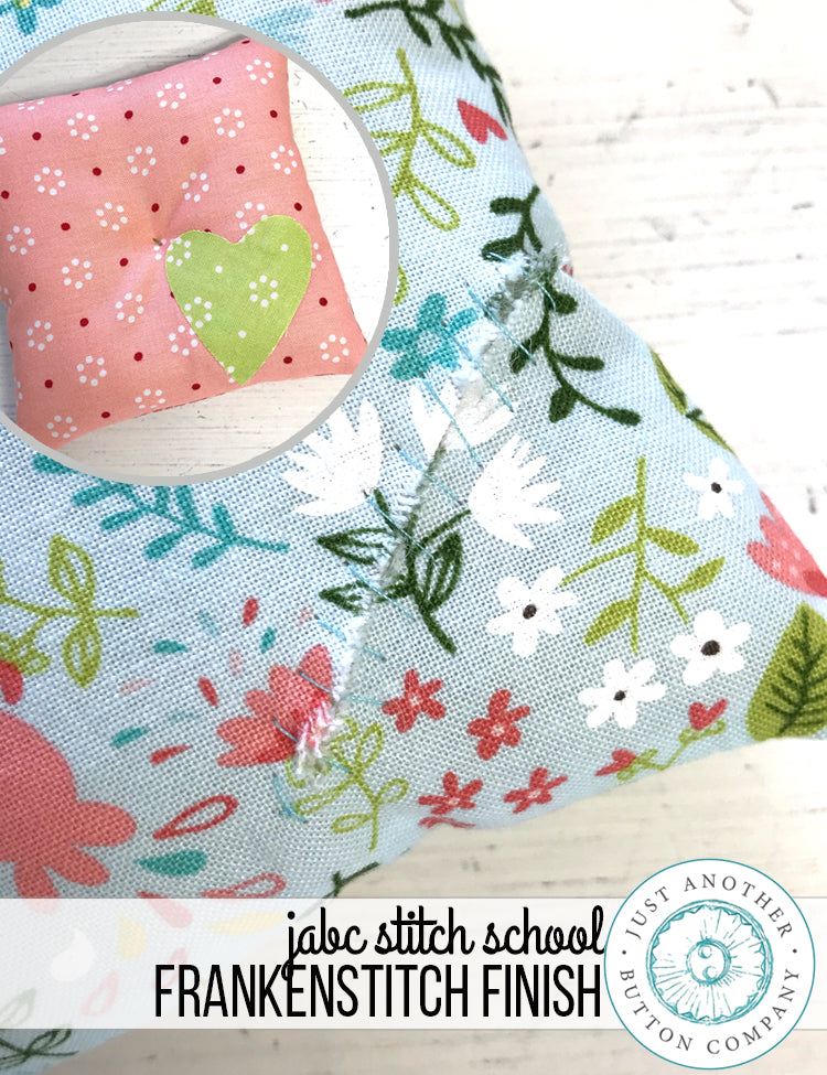 JABC Stitch School: Franken-Stitch Finish
