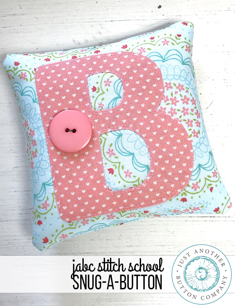 JABC Stitch School: Snug-A-Button
