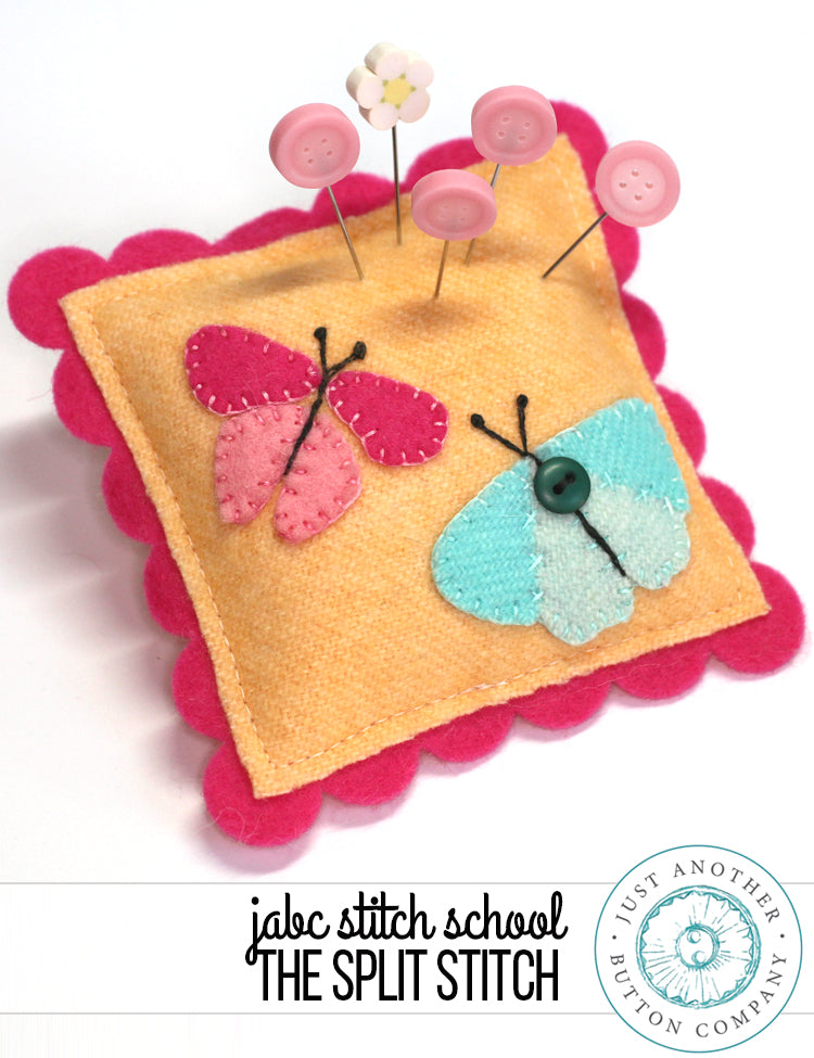 JABC Stitch School: The Split Stitch