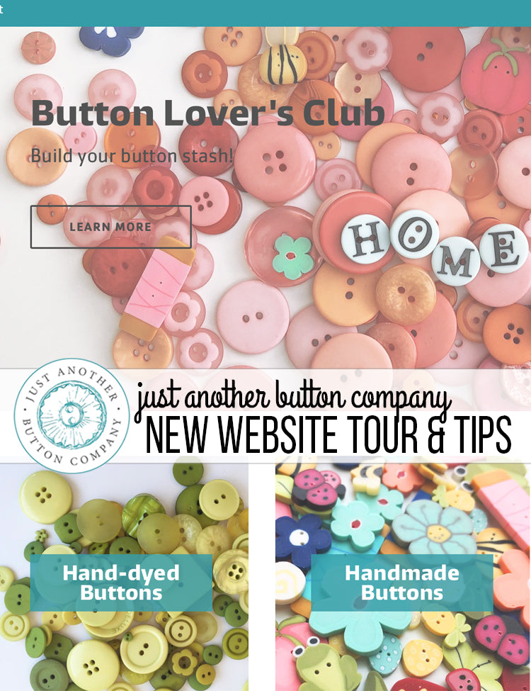 New website tour and tips!