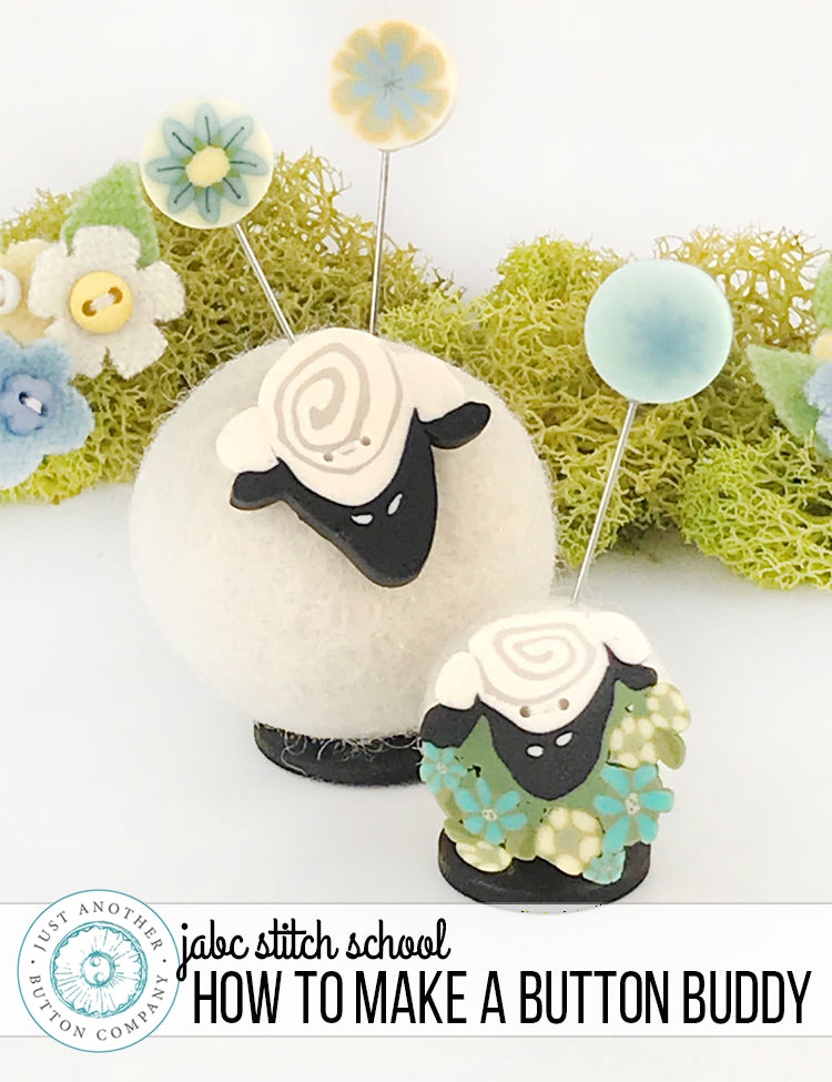 JABC Stitch School: How to make a Button Buddy