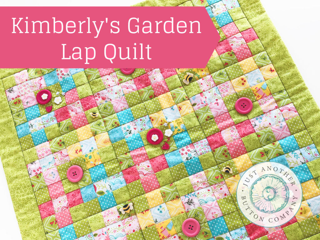 Tutorial: Kimberly's Garden 9 Patch Lap Quilt