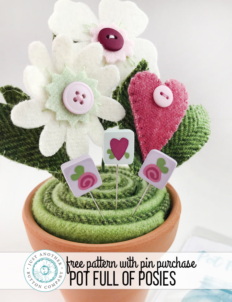 Free Pattern with Purchase: A Little More Love Pin-Mini