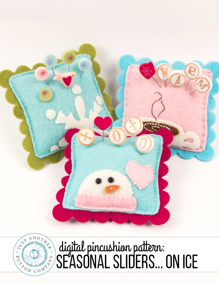 New Digital Pattern: Seasonal Sliders…on Ice!