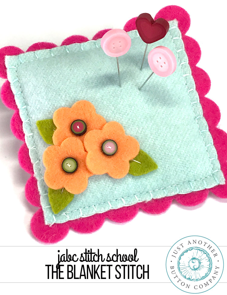 JABC Stitch School: The Blanket Stitch