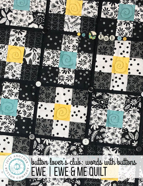Ewe and Me Quilt | www.justanotherbuttoncompany.com