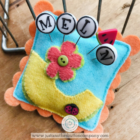 JABC Seasonal Sliders PDF Pincushion Pattern | Juicy Fruit