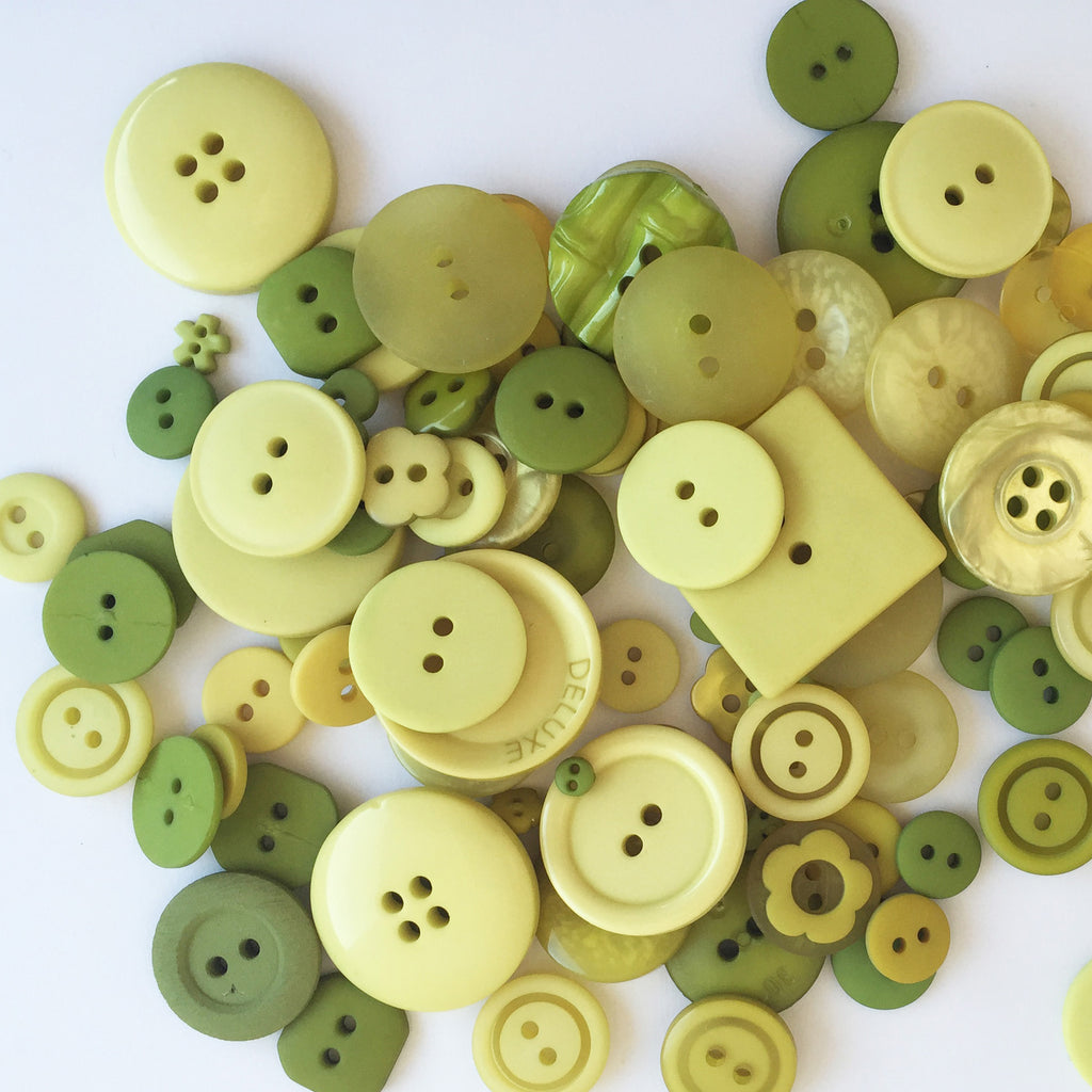 Hand-dyed Buttons by Just Another Button Company