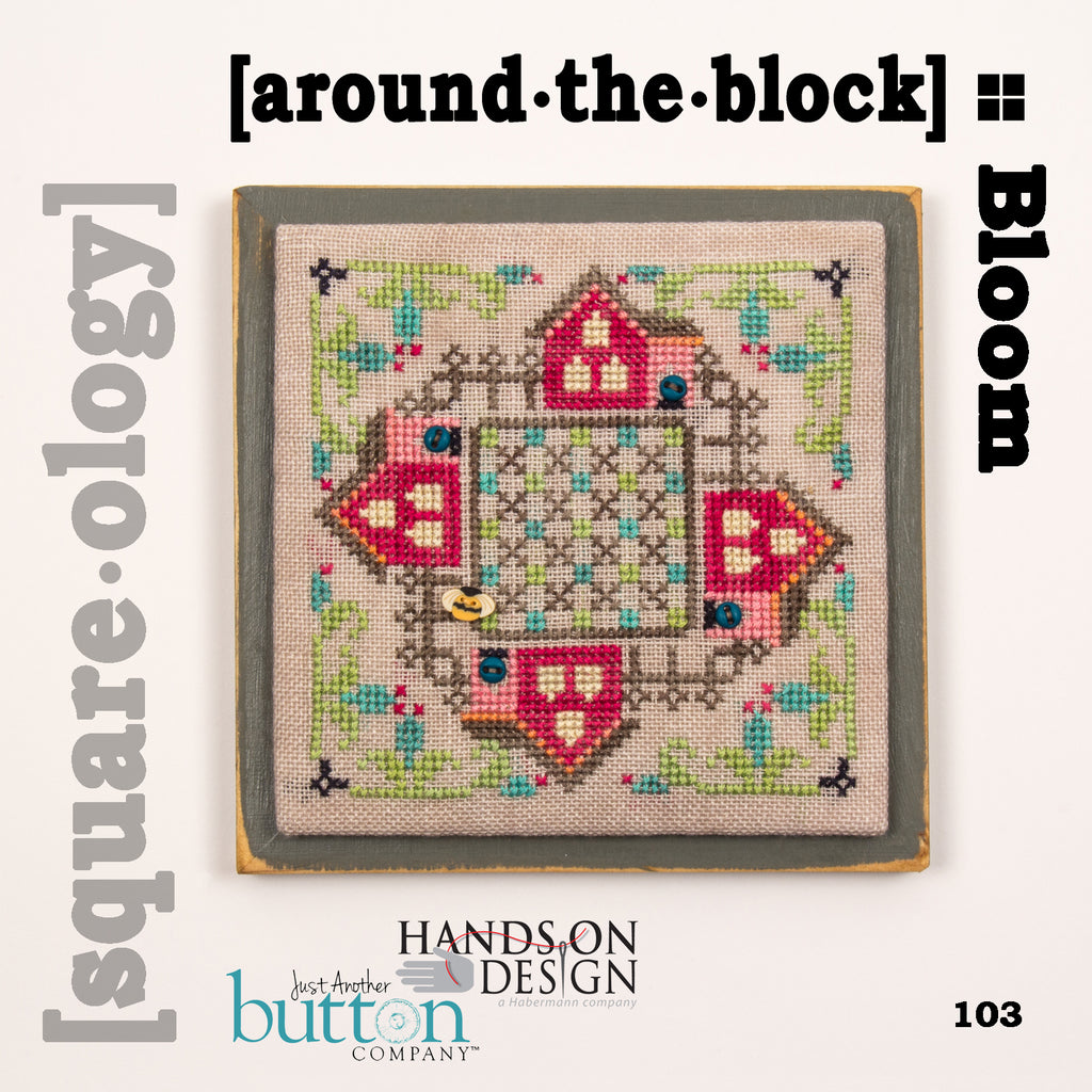 JABC - Cross Stitch - [square.ology] around.the.block